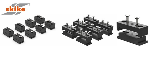 SKIKE Bindungs-Adapter Set FIRE 200 64mm K-P1-64