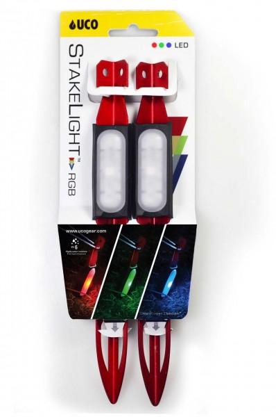 UCO Zelthering mit LED 'RGB'