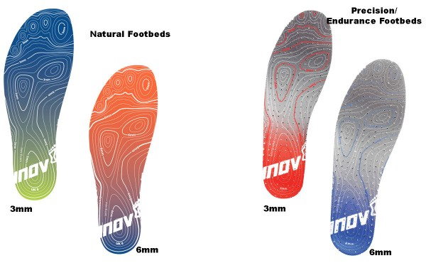 INOV-8 FOOTBEDS NATURAL