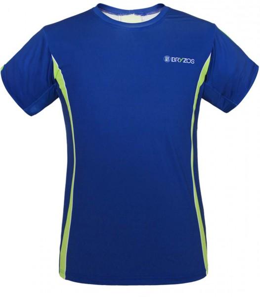 BRYZOS Sports Shirt Novik Blue