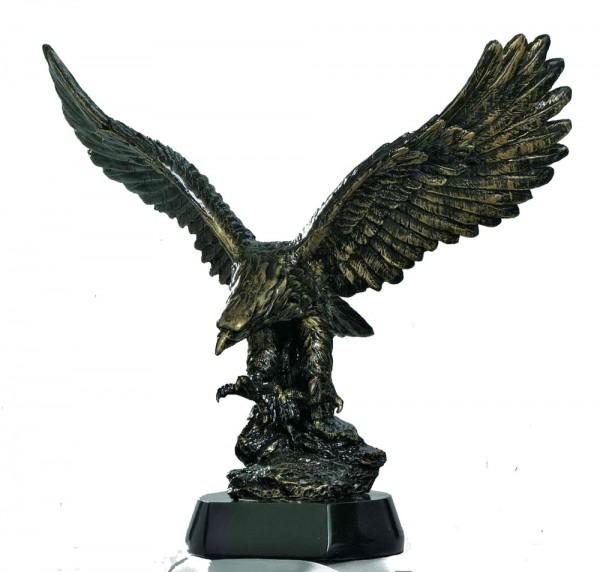 STIEBER Resinfigur Adler, 31 cm