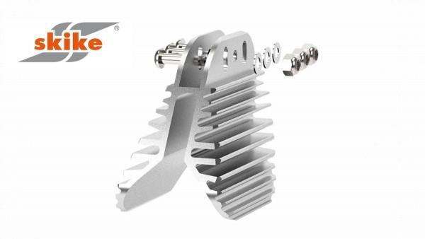 SKIKE Bremsbacke mit Kühlrippen für Räder bis 150 MM P2-43