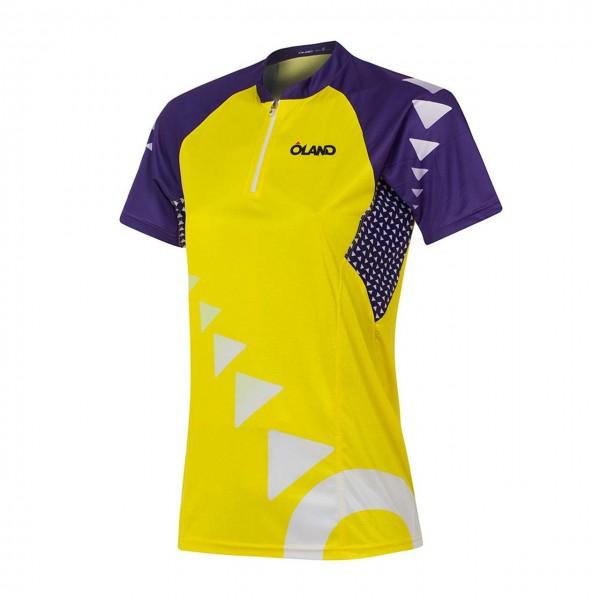 OLAND PRO-Elite Orienteering Jersey - yellow women's