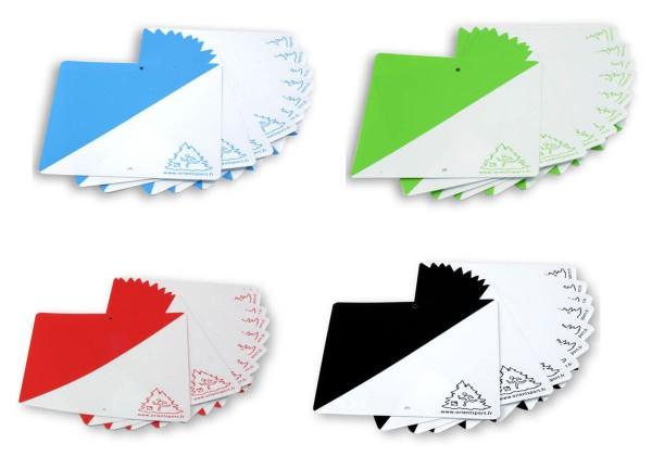 ORIENTSPORT Postenmarkierungen Kunststoff - Farbig