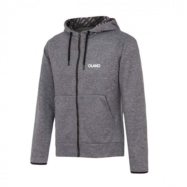 OLAND Cotton Sweatshirt - Grey melange men's