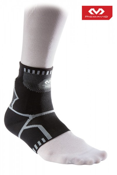 McDAVID Recovery-Knöchelbandage / 4-Wege elastisch