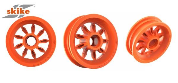 SKIKE Felge 6 Zoll orange 9SO