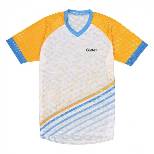OLAND Contour - Mesh Orienteering Jersey - orange men's