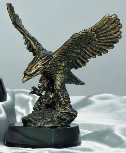STIEBER Resinfigur Adler, 19 cm