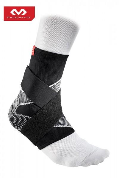 McDAVID Elastische Fußgelenkbandage mit Gel-Streben und 8-fach R