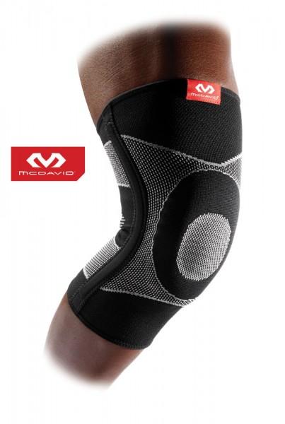 McDAVID Elastische Kniebandage mit Gel- und Federstahlstreben