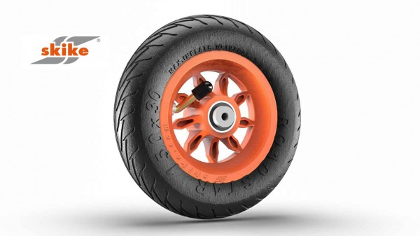SKIKE 6 Zoll Rad orange 9SO-RS