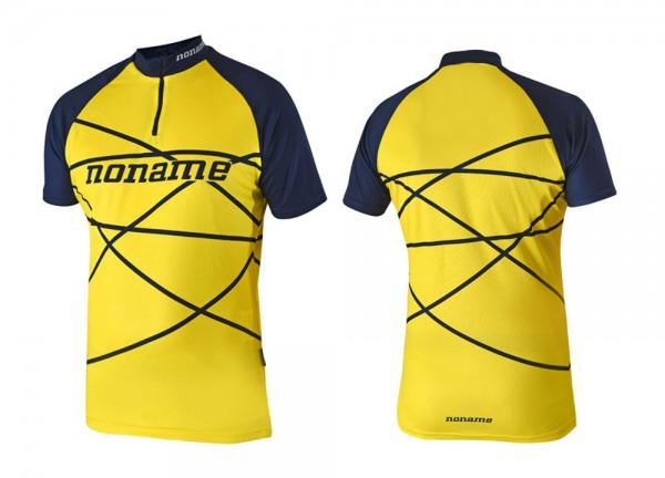 NONAME Combat shirt - Yellow/Navy