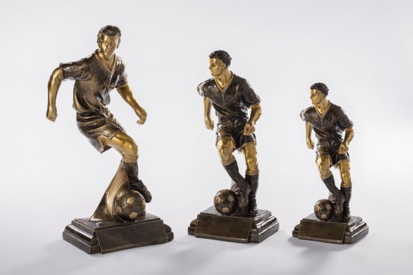 STIEBER Resinfigur Fußball Herren