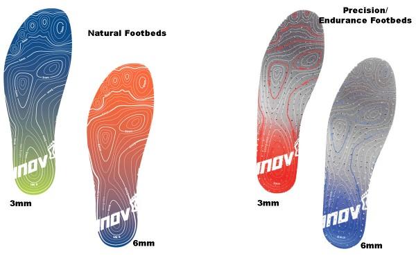 INOV-8 FOOTBEDS PRECISION/ENDURANCE